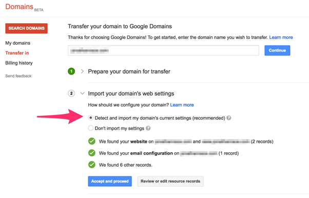 Google.Transfer to Another Account